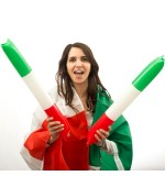 Applaudisseurs Drapeau de l'Italie