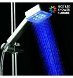 Douche avec Lumière Eco Led Shower Carrée