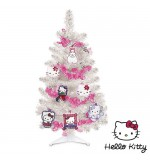 Sapin de Noël Hello Kitty avec Décorations